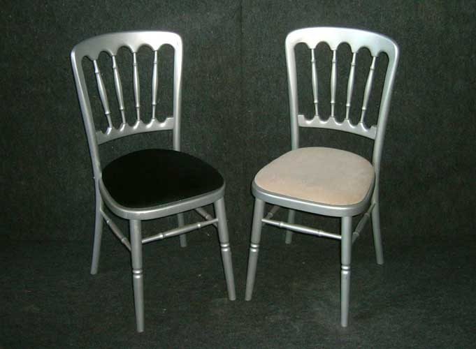 Silver Banqueting Chair Tredmark Furniture Hire - Banqueting chair hire