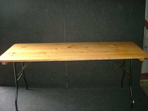 Attrayant Wooden Trestle Tables